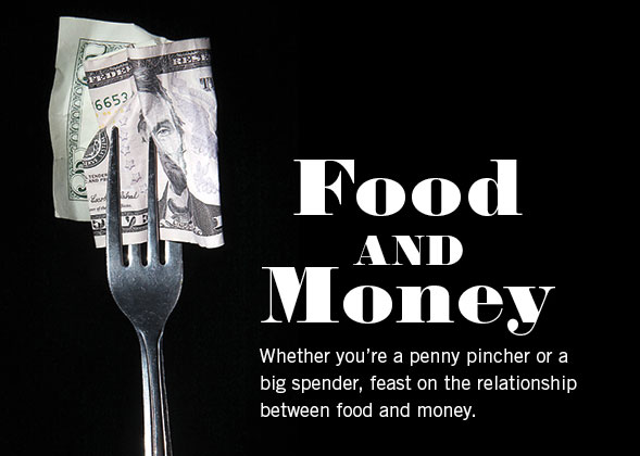 relationship with food and money